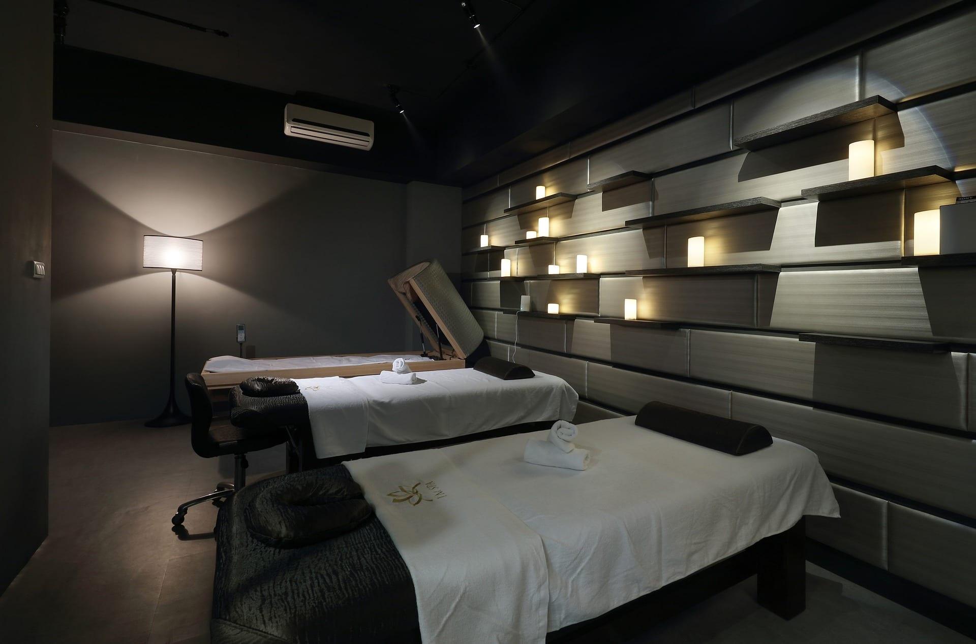 blog picture of dark massage studio