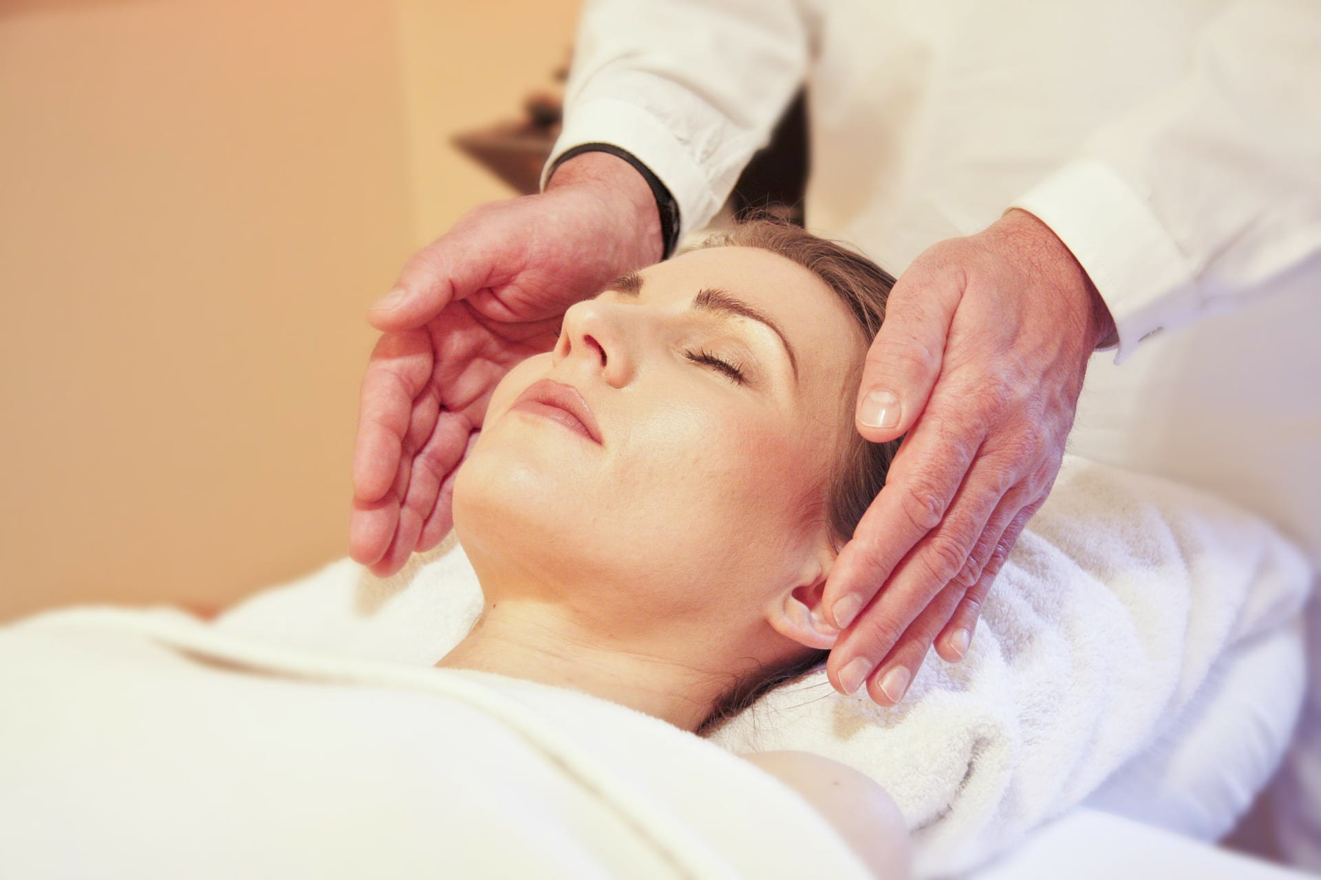blog picture of lady about to get a massage