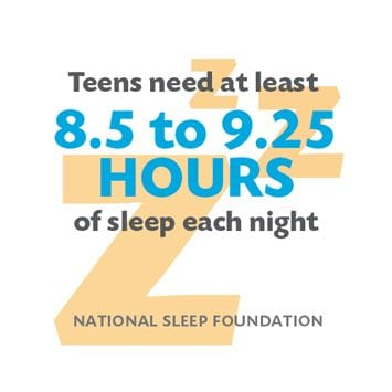 CDC: Teenagers Need More Sleep
