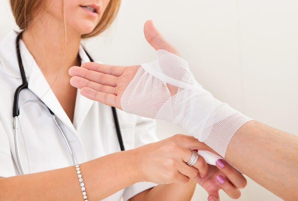 Receiving Diagnosis for Sprains and Strains