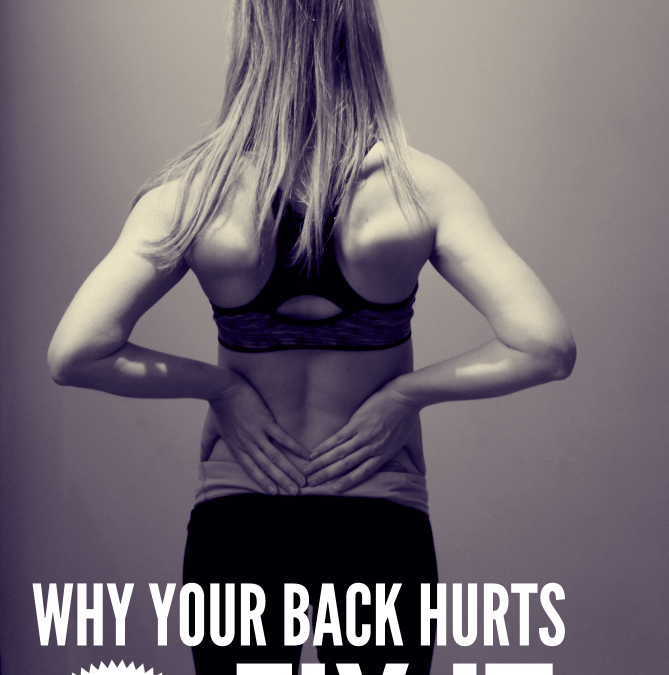 Why Your Back Hurts & How To Fix It