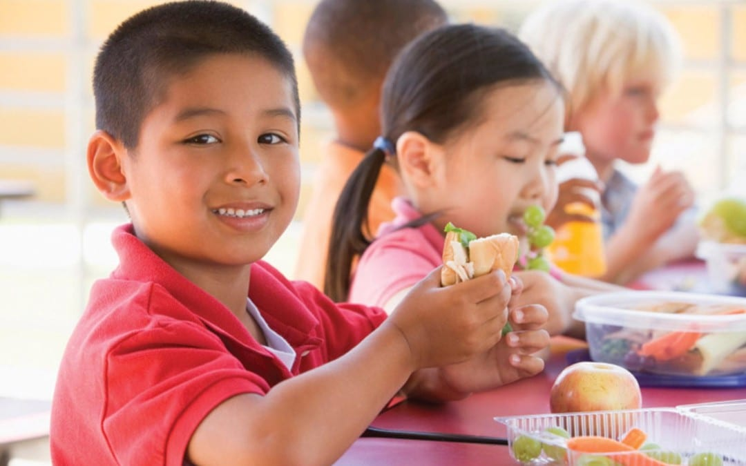 Kid's Lunch and Recess Timing Can Affect Health