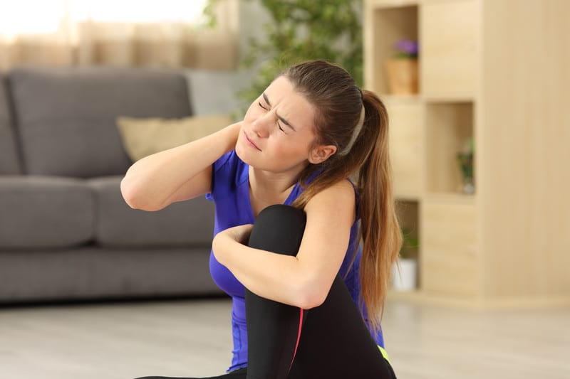 fibromyalgia woman neck pain el paso tx