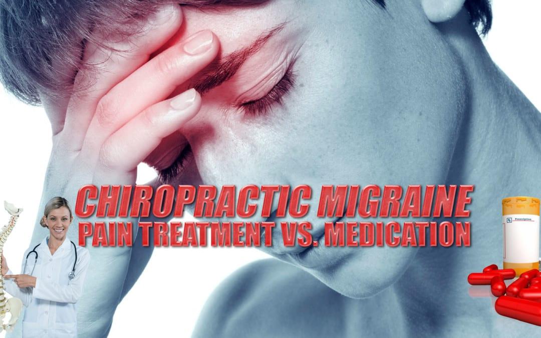 Tratamiento de dolor de migraña quiropráctica vs. Medicación | El Paso, TX