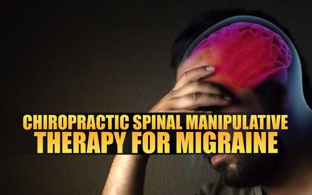 Terapia quiropráctica espinal manipuladora para la migraña