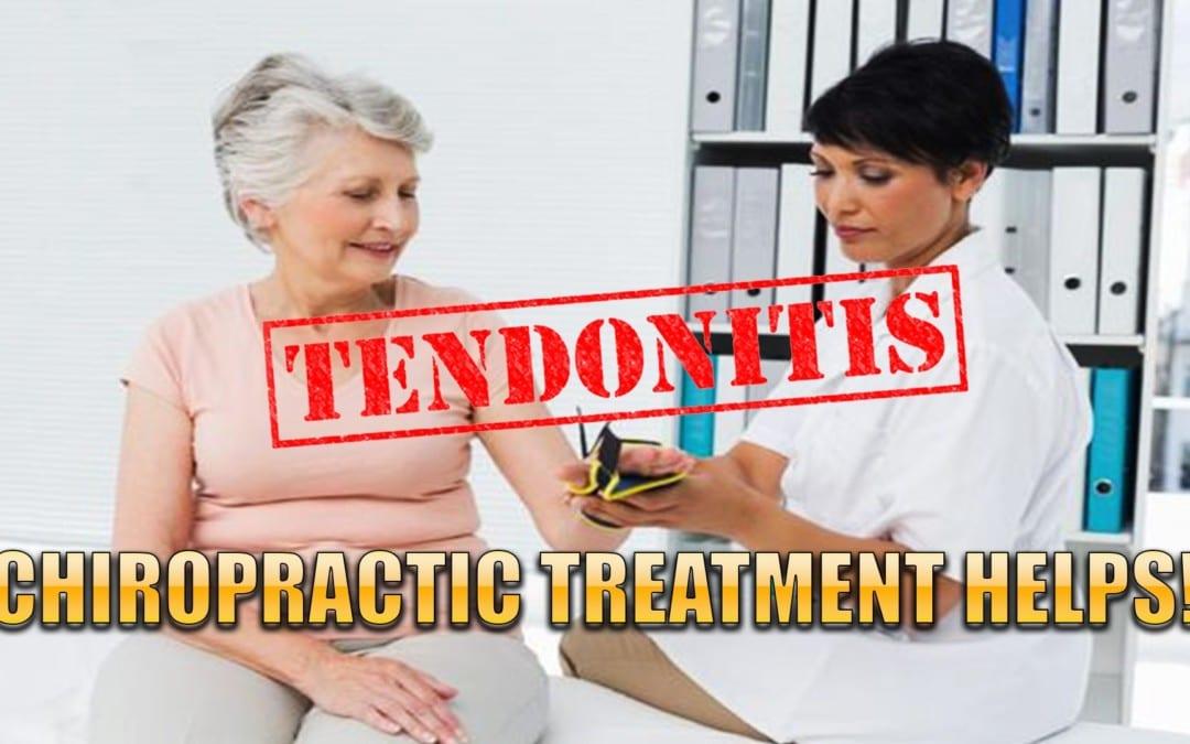 La quiropráctica ayuda a la tendinitis en El Paso, TX.