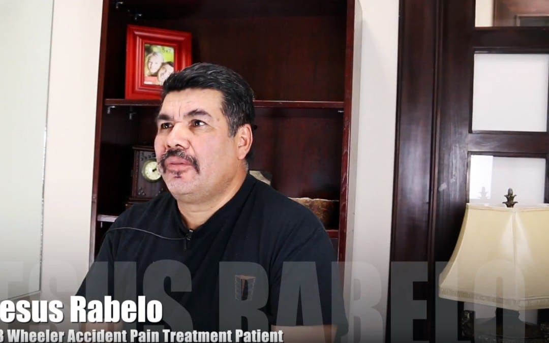 18 Wheeler Accident Pain Treatment El Paso, TX | Jesus Rabelo