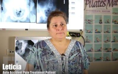 Tratamiento de lesiones por accidentes automovilísticos El Paso, TX | Leticia