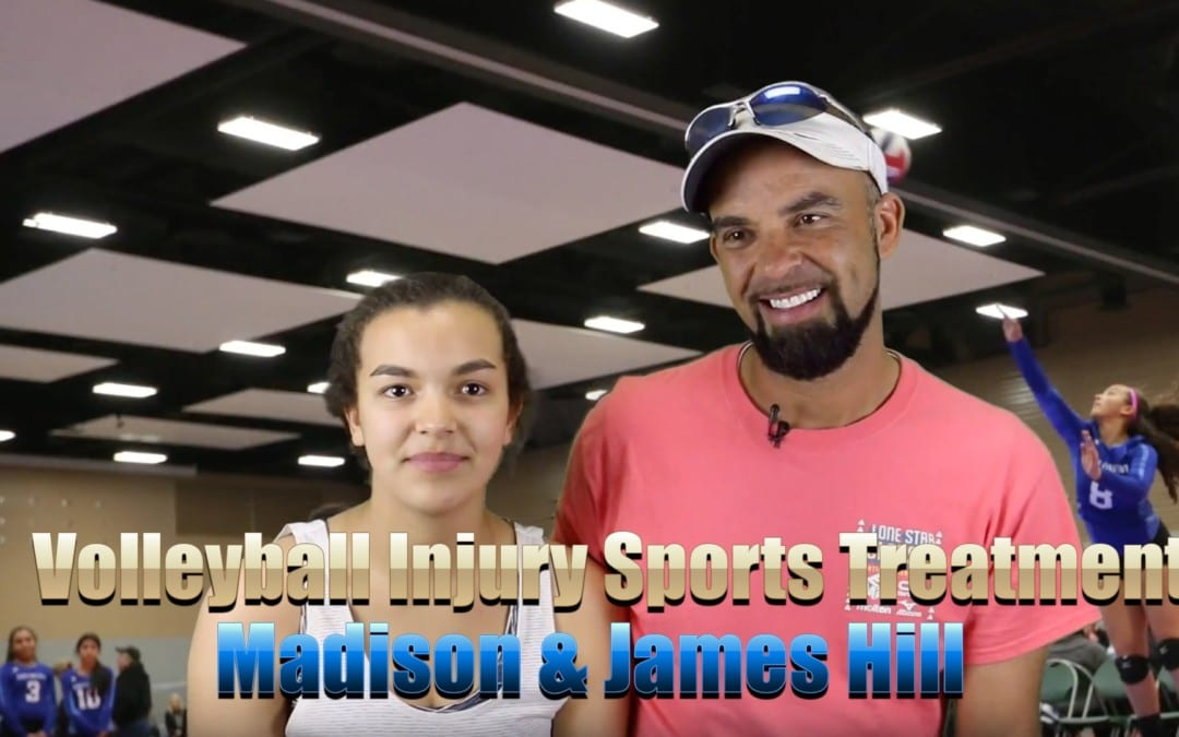 Volleyball Injury Sports Treatment El Paso, TX | Madison y James Hill