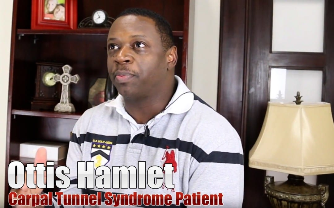 Carpal Tunnel Pain Treatment El Paso, TX | Ottis Hamlet