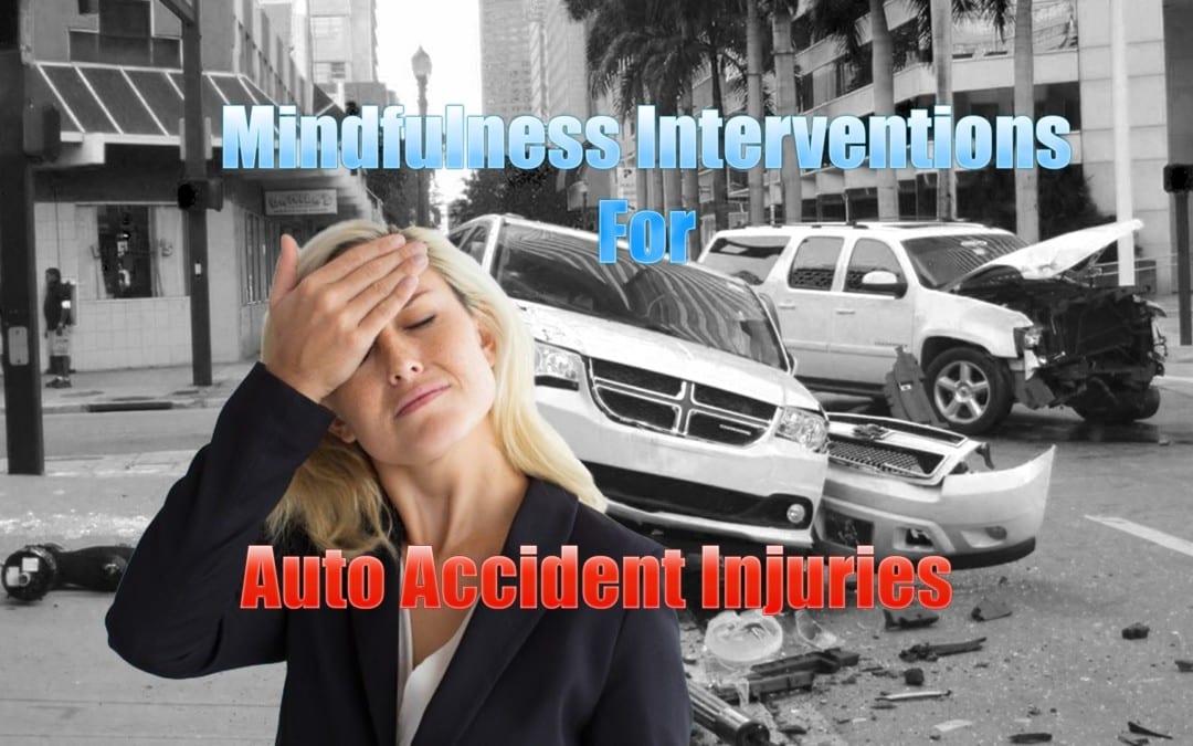 Intervenciones de atención plena para lesiones por accidentes automovilísticos en El Paso, TX