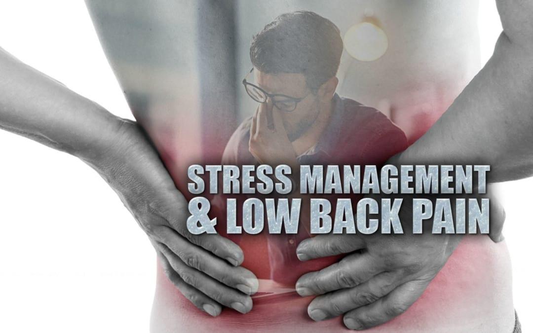 Manejo del estrés y dolor lumbar en El Paso, TX