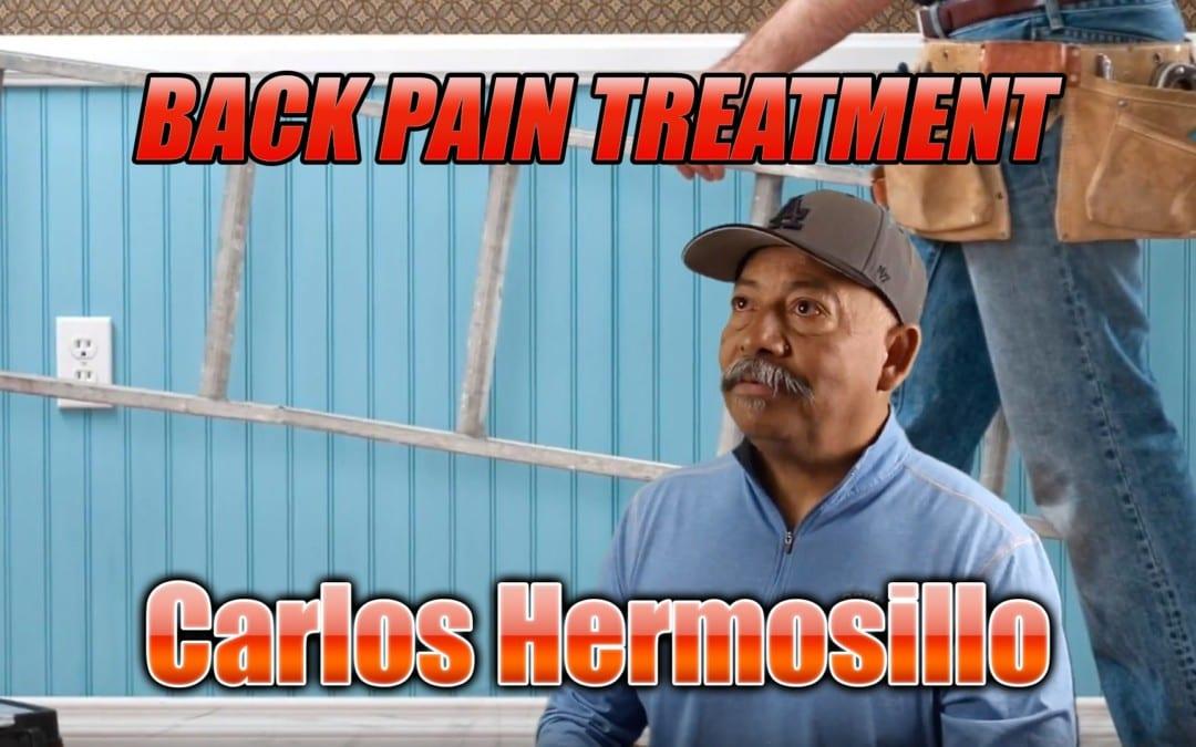 Tratamiento de dolor de espalda El Paso, TX | Vídeo