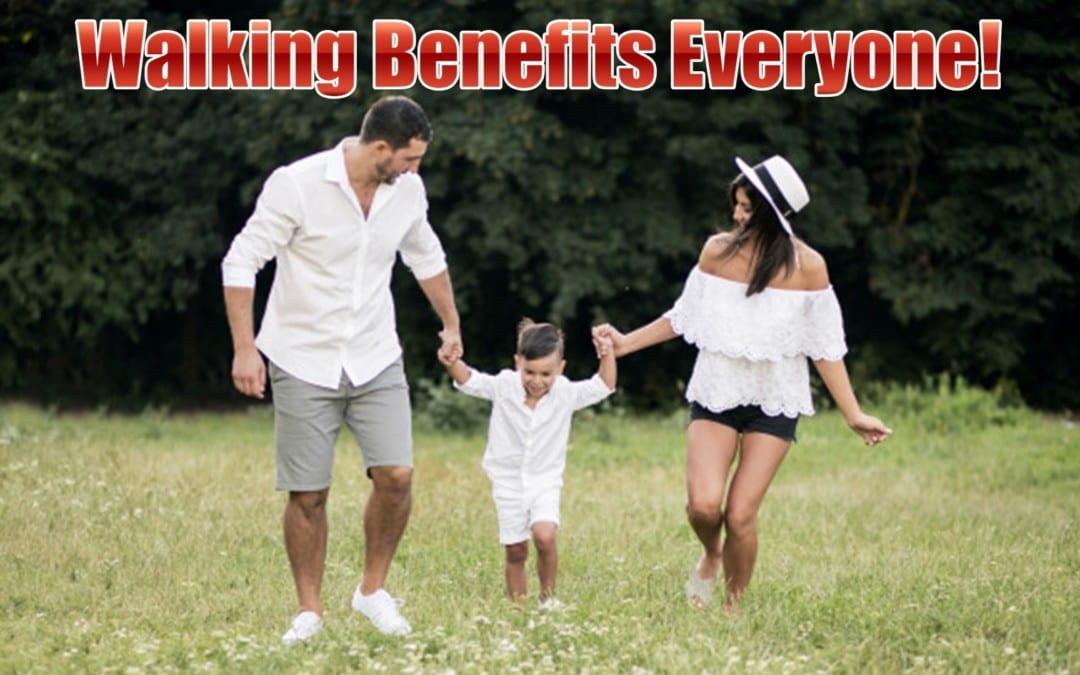Walking Benefits Everyone In El Paso, TX.