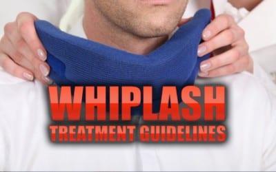 Whiplash Treatment Guidelines in El Paso, TX