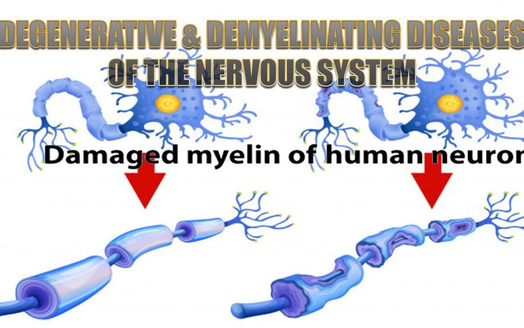 Enfermedades degenerativas y desmielinizantes del sistema nervioso
