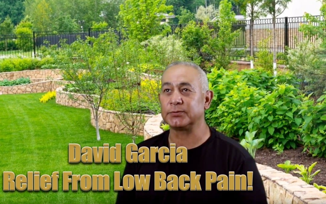 Relief From Low Back Pain