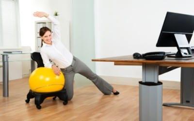 Incorpore movimiento en su lugar de trabajo