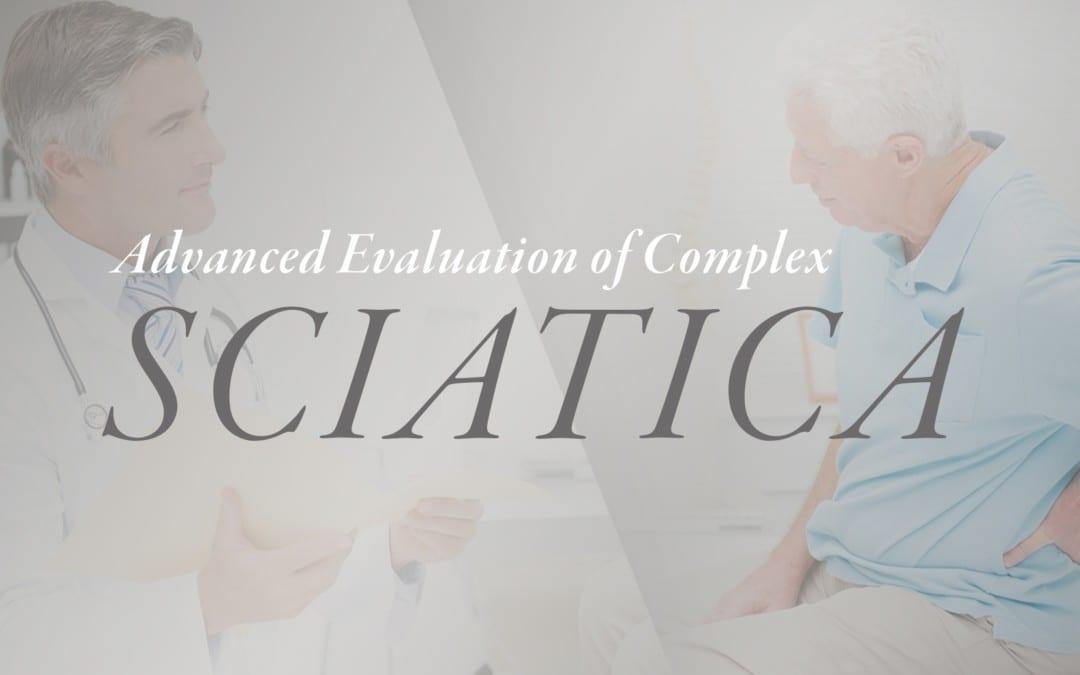 Valutazione avanzata di Complex Sciatica
