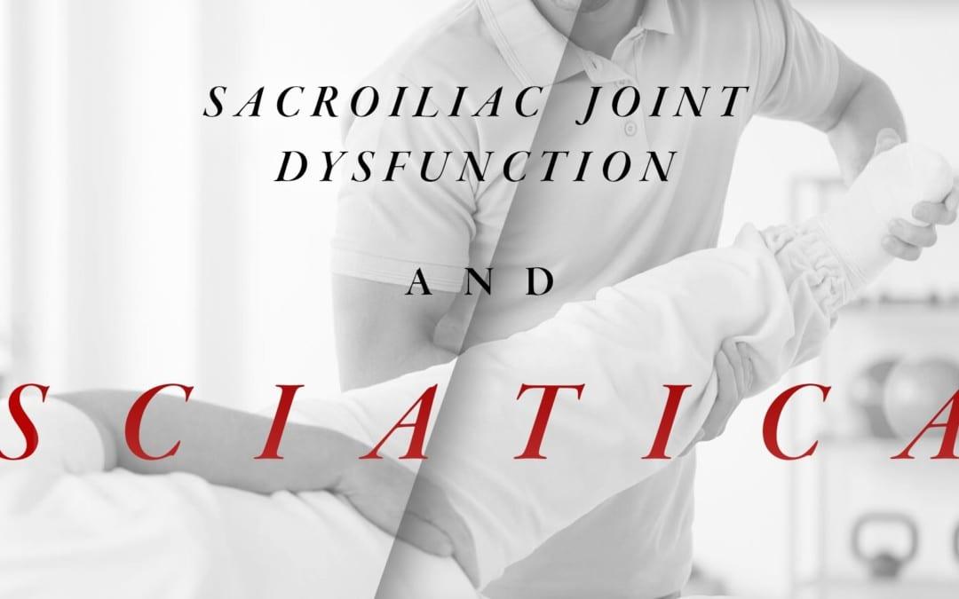 Disfunzione dell'articolazione sacroiliaca e sciatica